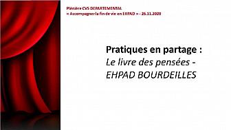 Le livre des pensées - EHPAD LES DEUX SEQUOIAS - BOURDEILLES