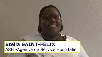 Métiers en EHPAD - Portrait - ASH Agent.e de Service Hospitalier
