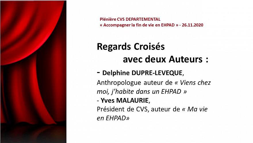 Regards Croisés avec deux Auteurs :  Delphine DUPRE-LEVEQUE et Yves MALAURIE